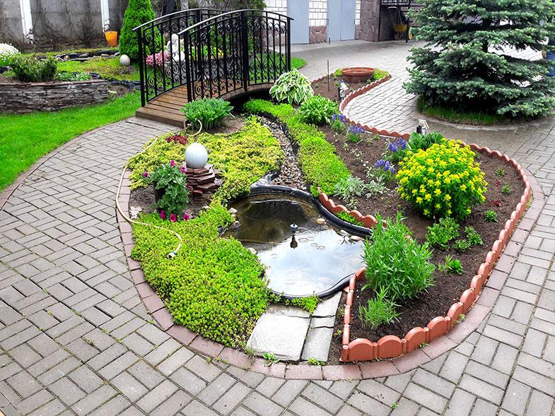 Ландшафтный дизайн, Система полива, Рулонный газон, Озеленение и Благоустройство в Ижевске с гарантией: 644-955